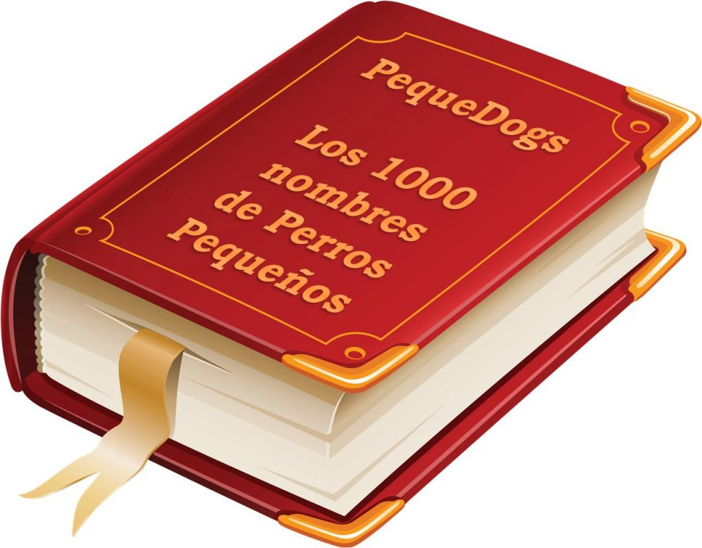 Libro Pequedogs Los 1000 nombres de Perros Pequeños
